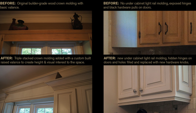 """CCFF """"Before and Afters"""" traditional-kitchen"""