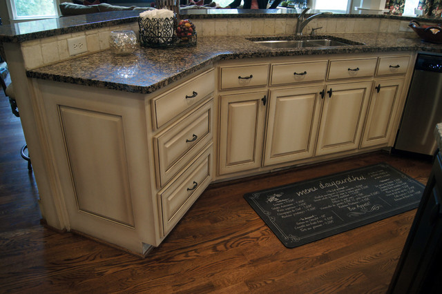 faux finish cabinets kitchen ccff kitchen cabinet finish ii traditional kitchen 15295