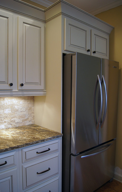 CCFF Kitchen Cabinet Finish II - Traditional - Kitchen - atlanta - by Creative Cabinets and Faux ...