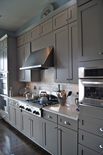 CCFF Kitchen Cabinet Finishes traditional-kitchen