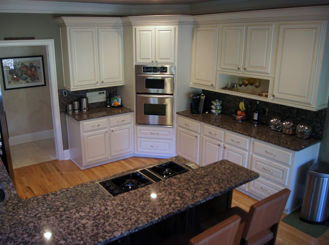 CCFF Kitchen Cabinet Finishes - Traditional - Kitchen - atlanta - by ...