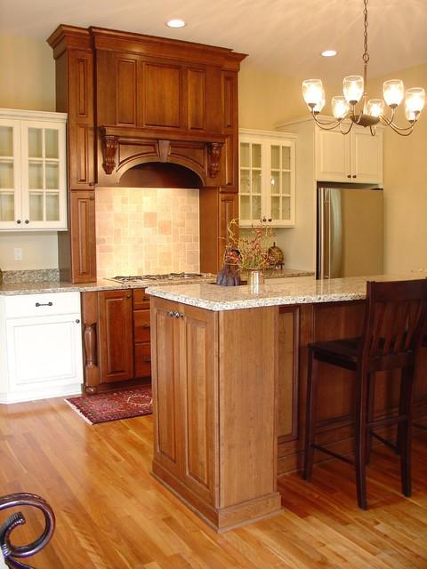 Cedar River Court Kitchen traditional-kitchen