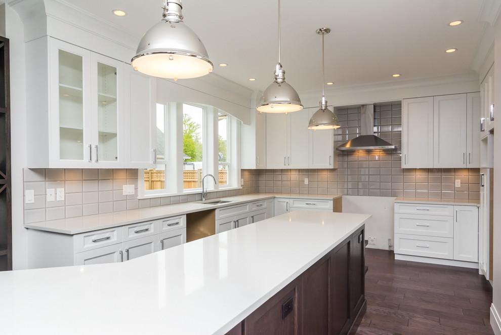 Cedarridge Home, Langley, BC - Traditional - Kitchen ...