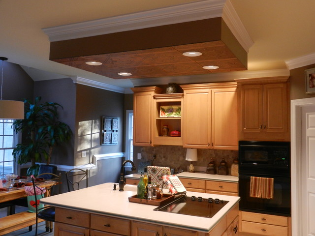 Ceiling Over Kitchen Island Traditional Other Metro By Decorative Tiles