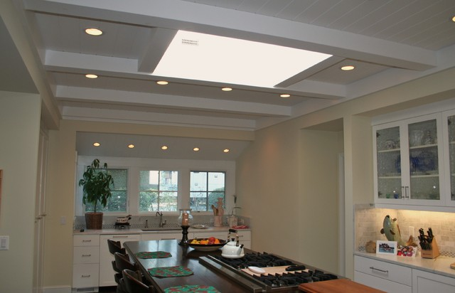 Ceilings traditional-kitchen
