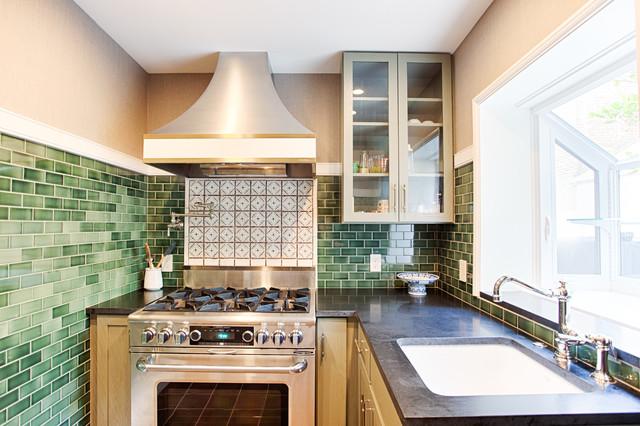 Center City Philadelphia Row Home Kitchen Transitional