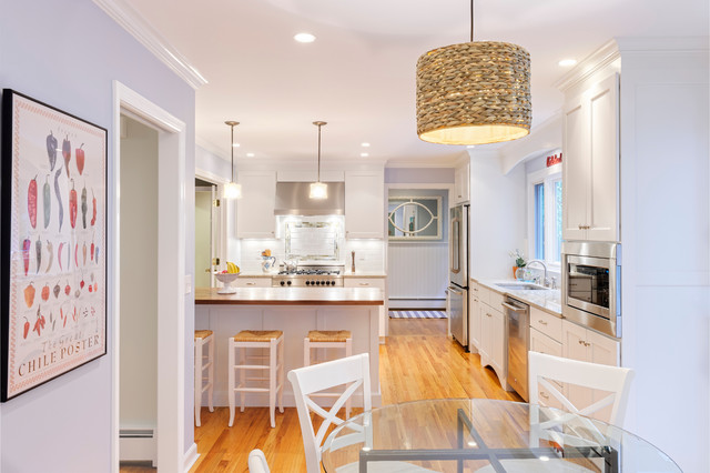 Side Hall Colonial Kitchen Remodel