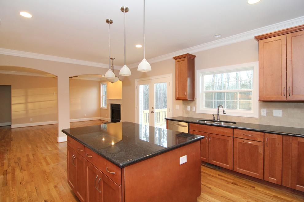 Center Island Kitchen Ideas Traditional Kitchen Raleigh By Stanton Homes