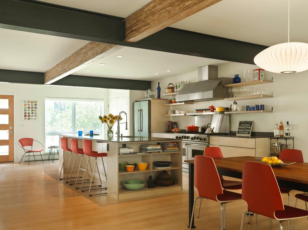 Central Avenue - Contemporary - Kitchen - Burlington - by ...