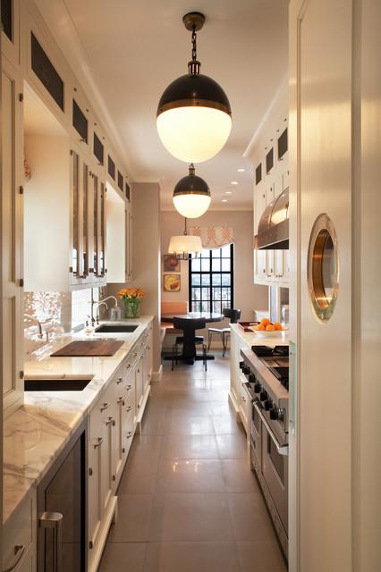Great Transitional Kitchen by David Scott Interiors