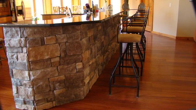 Centurion stone installs rustic kitchen atlanta by for Kitchen designs centurion