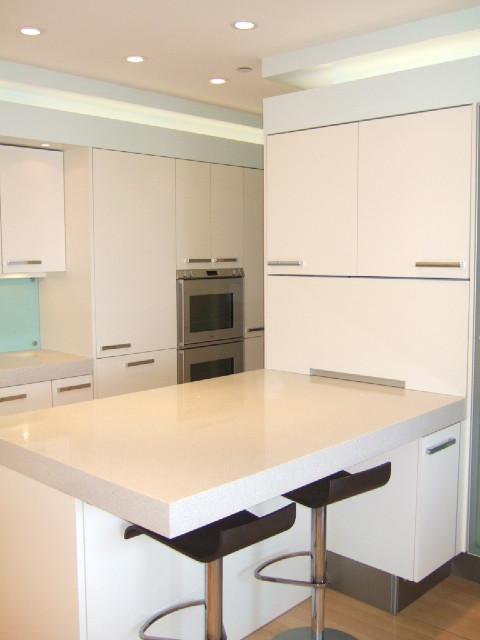 Century City Kitchen Remodel - Modern - Kitchen - los angeles - by Giammarco & Associates, Inc.