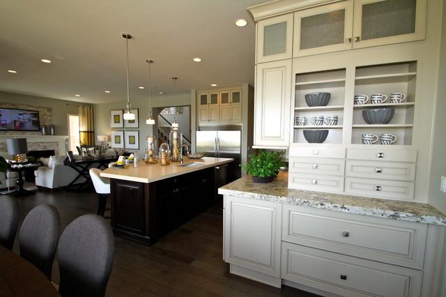 Century Communities Homes Transitional Kitchen Denver By Interior Resource Group