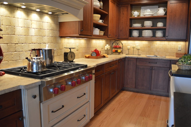 Century home kitchen traditional-kitchen