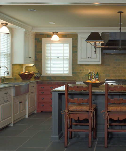 exceptional Old Farmhouse Kitchen Designs #2: Century Old Farmhouse farmhouse-kitchen
