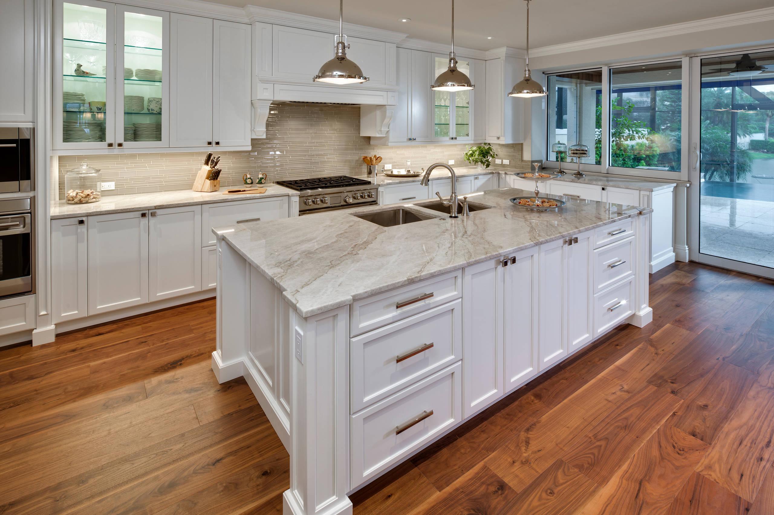 Certified Luxury Builders - 41 West - Pelican Bay - Hamptons Kitchen