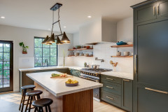 Before and After: 3 Kitchens With Gorgeous Dark Green Cabinets