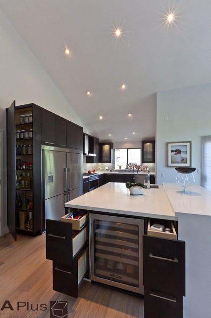 Chad Modern Contemporary Modern Kitchen Orange County By Aplus Interior Design