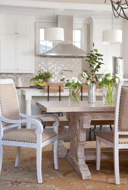 Updating a 1962 thomasville dining room table and chairs - Thomasville kitchen table ...