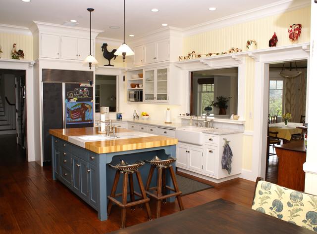 Blue Kitchen Islands | Blue Kitchen Island Houzz