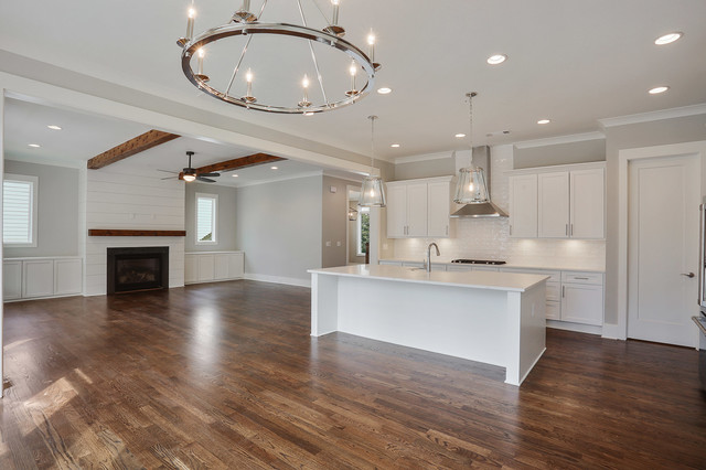 Inspiration for a country kitchen remodel in Atlanta