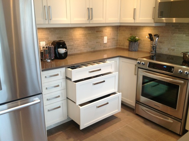 Champlain kitchen - Contemporary - Kitchen - montreal - by Wow Great Place