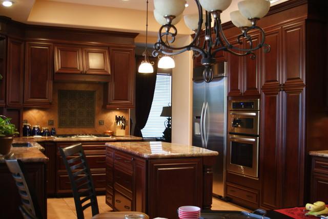 Chandler Az Traditional Kitchen Phoenix By D 39 Amore Interior Design Studio
