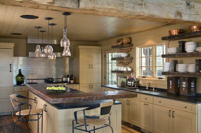 Channels Ranch - Rustic - Kitchen - other metro - by Van Bryan Studio ...