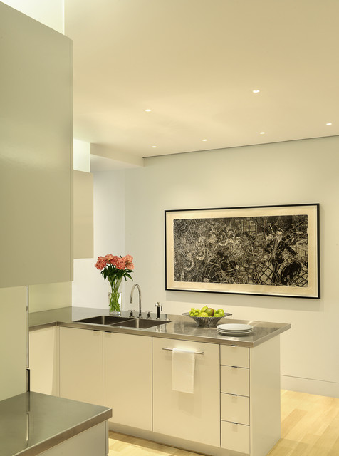 Charles Rose Architects Inc. contemporary-kitchen