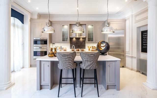 Charles Yorke transitional-kitchen