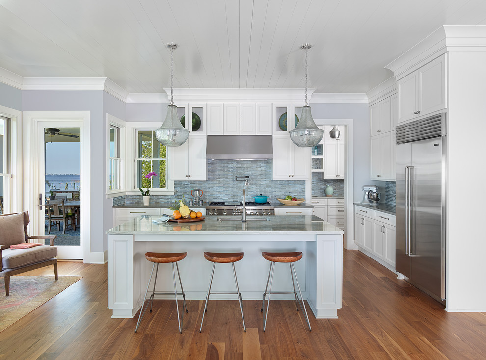 Charleston Harbor - Beach Style - Kitchen - Charleston ...