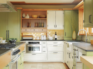 Charlotte vt residence contemporary kitchen for Kitchen cabinets vermont