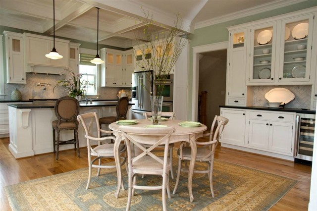 Charlottesville Custom Home Traditional Kitchen Richmond By Ideal Cabinets Design Studio
