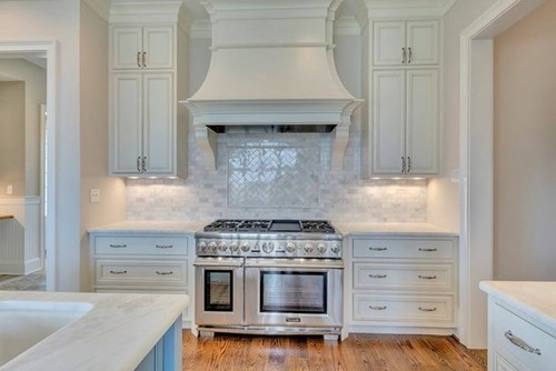 A Gorgeous White Kitchen By Peak Builders In Charlottesville