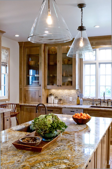Charmean Neithart Interiors traditional-kitchen