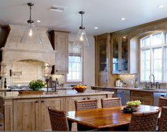 Charmean Neithart Interiors traditional kitchen