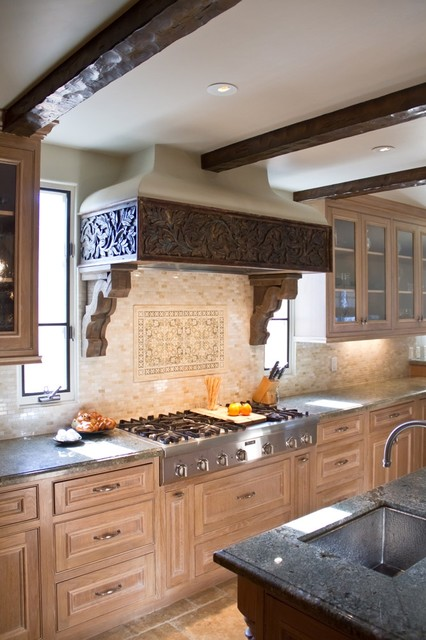 Charmean Neithart Interiors, LLC. rustic-kitchen