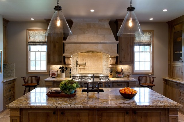 Charmean Neithart Interiors, LLC. traditional-kitchen