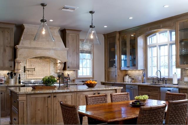 Charmean Neithart Interiors, LLC. traditional-kitchen