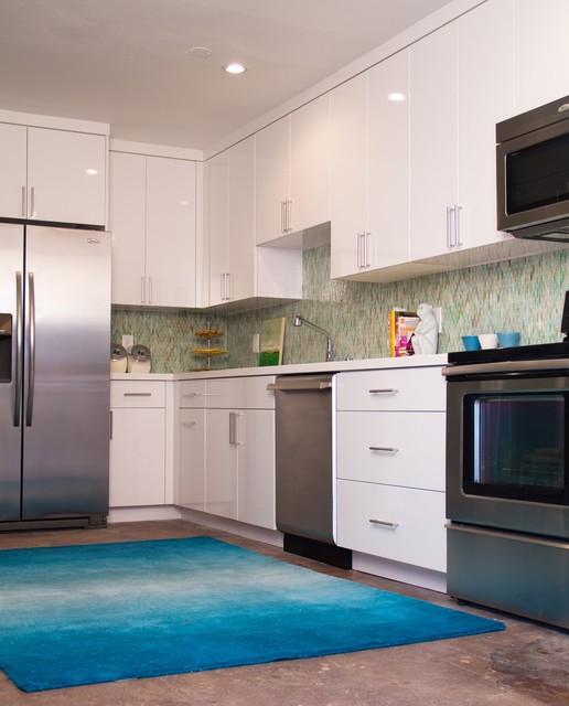 Charmean Neithart Interiors, LLC. contemporary-kitchen