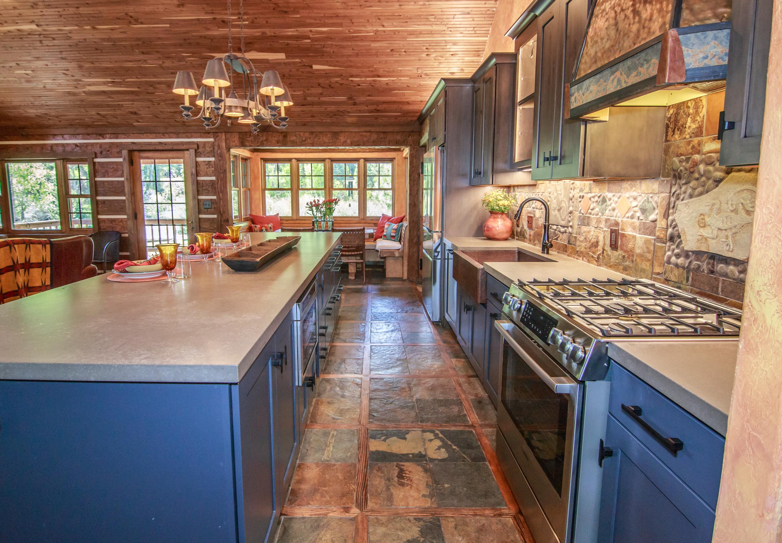 Charming Mountain Kitchen