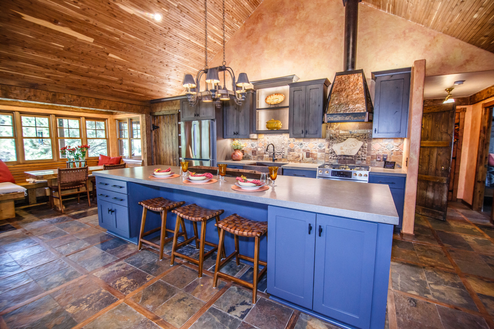 Charming Mountain Kitchen
