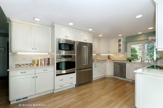 Charming Ranch contemporary-kitchen