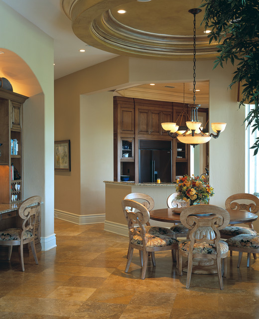 Chateau Vienne | Custom Residence traditional-kitchen