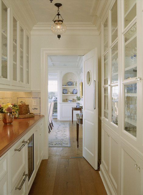 Chatham Butler's Pantry - Traditional - Kitchen - DC Metro - by ...