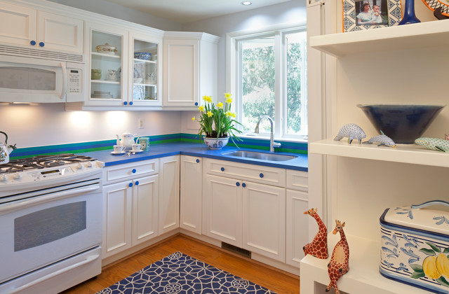 Cheerful Kitchen Remodel - Traditional - Kitchen - Baltimore - by ...