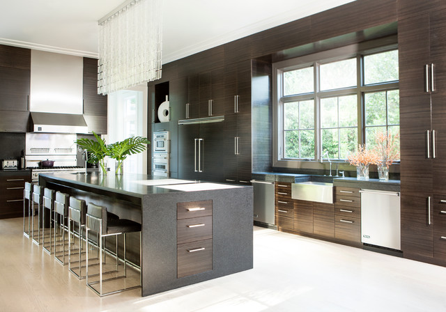chef's delight - contemporary - kitchen - atlanta -joel kelly