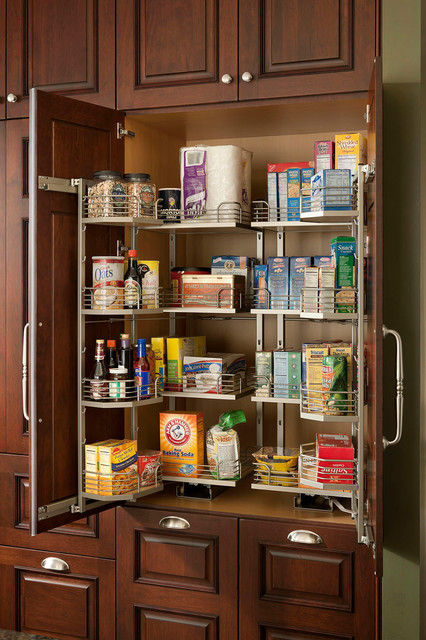 Chefs Pantry With Drawers