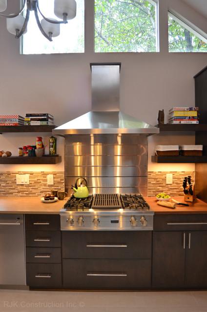 Chef's Retreat contemporary-kitchen