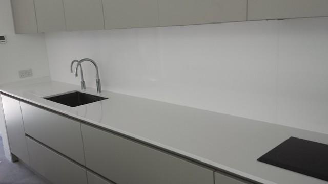 Chelsea apartment in silestone blanco zeus quartz - Silestone blanco zeus precio ...